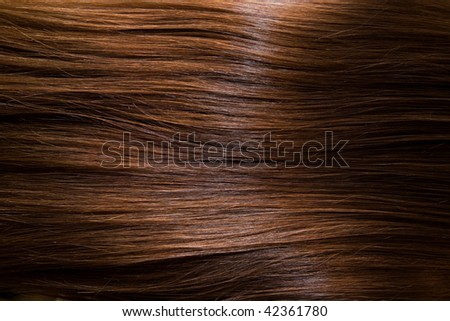 Fine brown hair, as a background