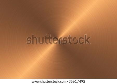 fine brushed bronze metal texture