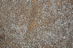 fine gravel for filling the repaired objects texture