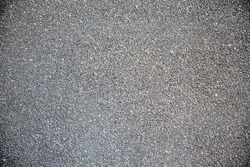 fine gray granite stone gravel