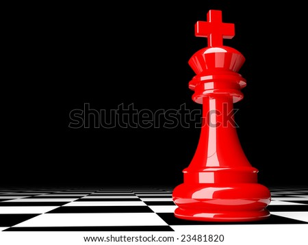 fine image 3d of red chess background
