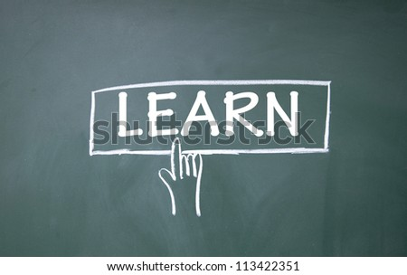 finger click learn title symbol