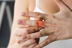 Finger Knuckle Hand Joint Pain And Sprain