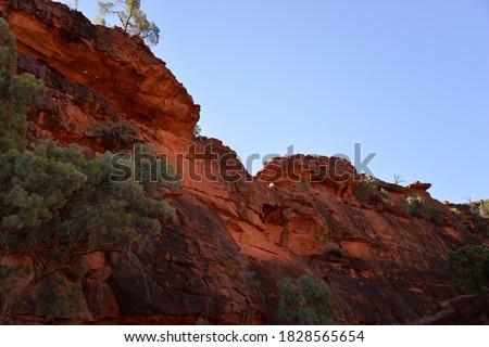 Photo of  Finke River Cliff Northern Territory Central Australia