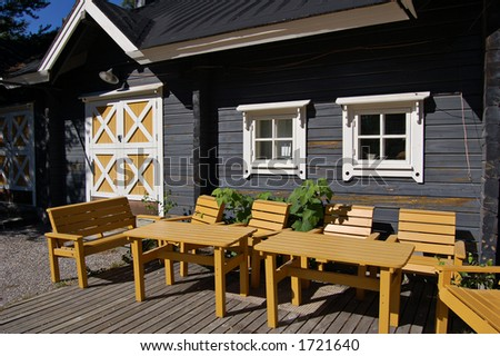 Finnish wooden lifestyle
