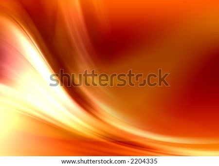 fire abstract composition