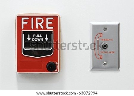 fire alarm button emergency