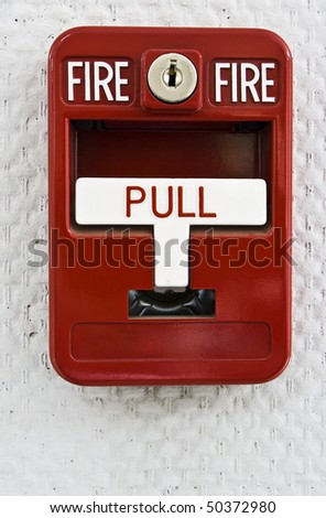 Fire alarm switcher front view