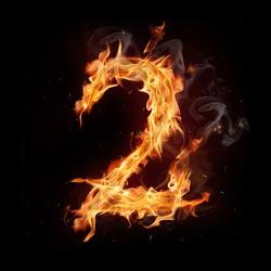 Fire alphabet number