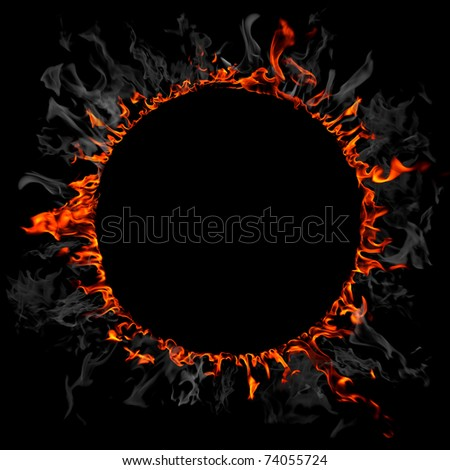 Fire and smoke ring