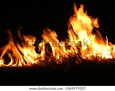 Fire background #1069979207