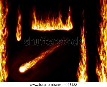 fire background design