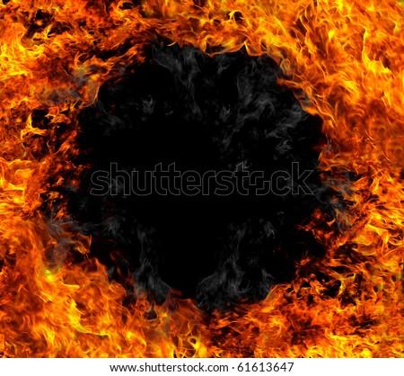 Fire black hole