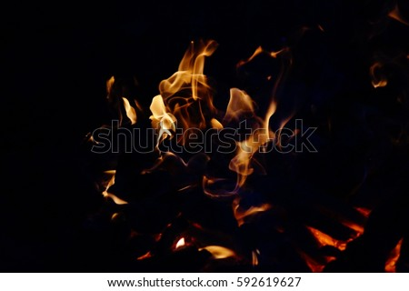 Fire, burning fire, fire wallpaper, fire effect