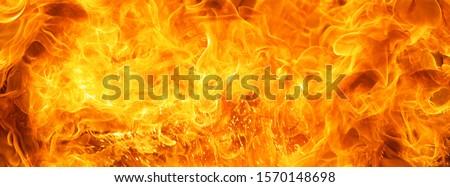 fire burst texture for banner background Foto d'archivio ©