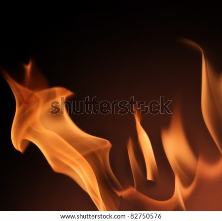 Fire close up