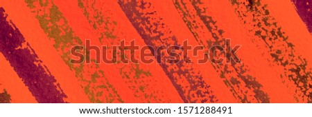Fire Color Dirty Abstract Drawing. Pumpkin Paint Splash On Cloth. Copper Dirty Art Painting. Carrot Grunge Ink Splash. Orange Spots Distressed Silk. Amber Dirty Modern Artwork.