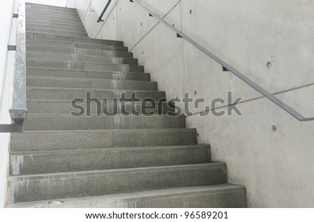 Fire escape stair