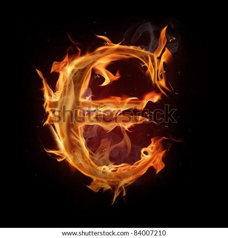 Fire euro symbol