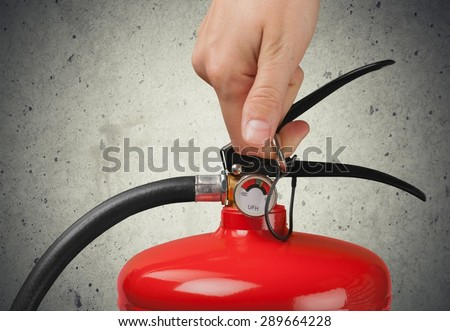 Fire Extinguisher, Extinguishing, Safety Equipment.