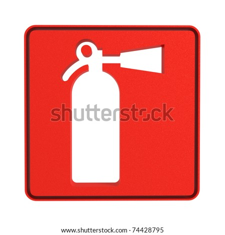 fire extinguisher sign stock photo 74428795 shutterstock