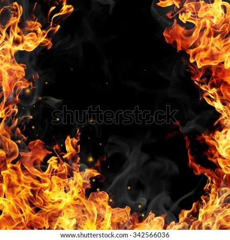 Fire flames #342566036