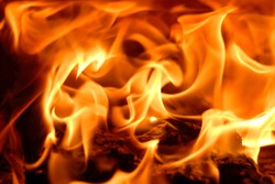 fire flames for background