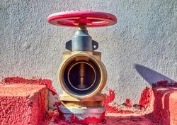 fire hazard prevention, hydrant in urban area