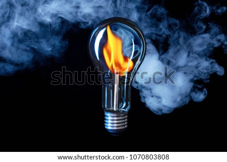 Fire hot idea - all old incandescent lamps should be replaced! They spend electricity not on light, but on heat.