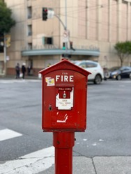 fire hydrant at sanfrancisco california usa