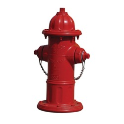 fire hydrant isolated on white background