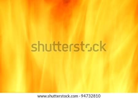 Fire light in long exposure