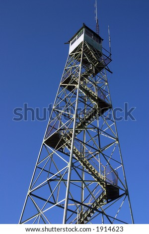 Fire lookout tower in Dover, Florida