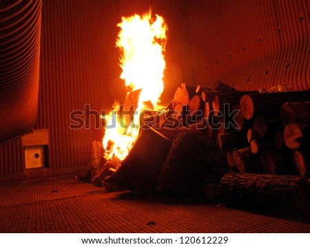 """fire on the grill grate boiler during the initial phase of drying refractory and chemical """"boil off"""" the pressure system"""