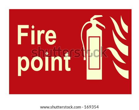 Fire Point Sign Stock Photo 169354 : Shutterstock