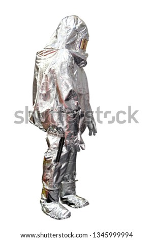 Fire Proximity Suit for Firefighter Protection From High Temperature Isolated #1345999994