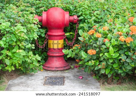 fire pump Singapore/three ways red fire hydrant