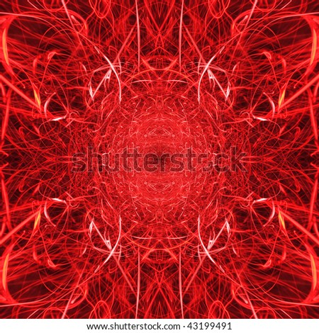 Fire red hot flames and sparks background texture with satanic hell overtones.