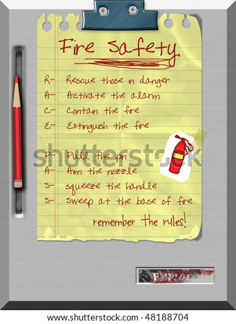 fire prevention rules