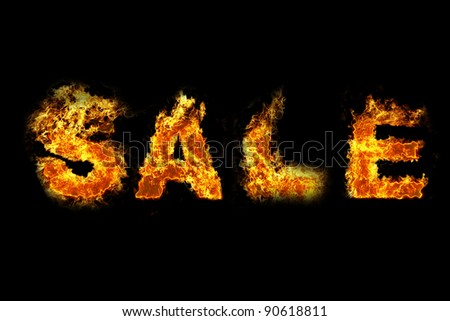 Fire Sales text