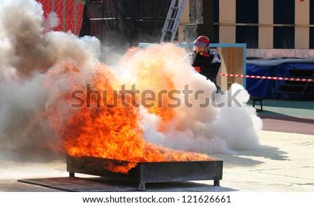 Fire Sports, fireman