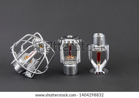 fire sprinklers fire extinguisher safety equpment