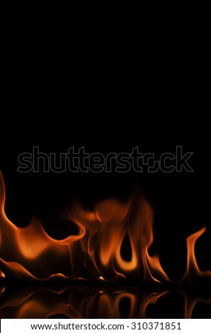 Fire wall abstract backgrounds textures