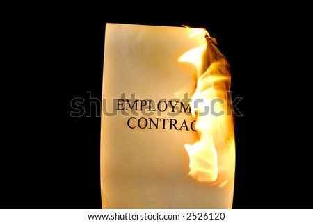 Fired - Employment Contract