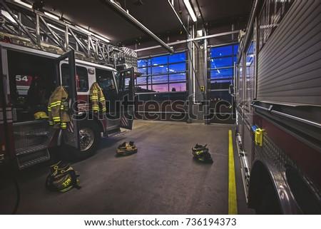 Firehouse between calls