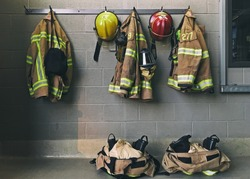 Firemen emergency clothes