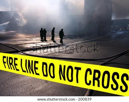Firemen Silhouette