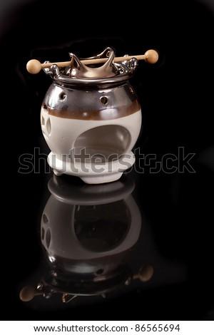 Fireplace Fragrance, Fragrance Oil Lamp Stock Photo 86565694 ...