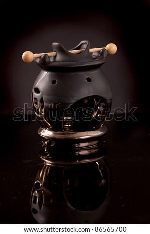 Fireplace Fragrance, Fragrance Oil Lamp Stock Photo 86565700 ...
