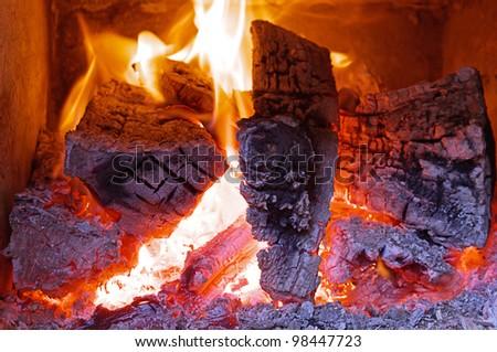 Fireplace home Interior